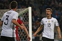 Thomas Müller se trefil proti českému týmu hned dvakrát