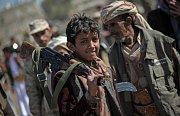 Hútíjští povstalci, Jemen