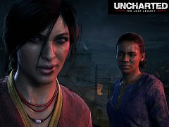 PlayStation 4 hra Uncharted: The Lost Legacy.