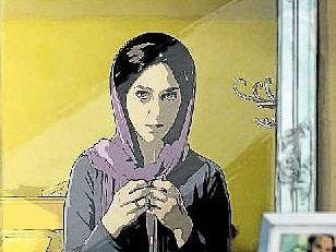 DIVÁCKÝ FAVORIT. Animovaná podoba filmu vznikla jako z nouze ctnost. Režisér nemohl natáčet v reálných kulisách Teheránu.