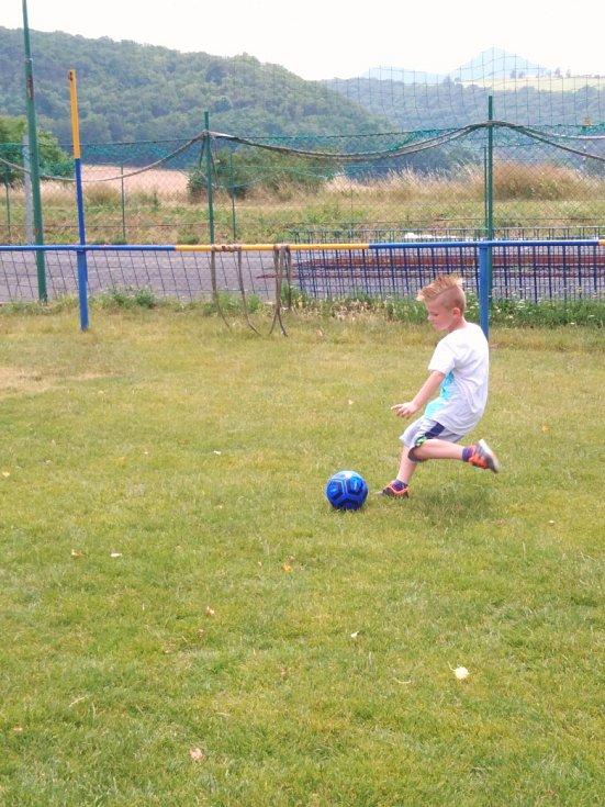 Foto z tréninku.