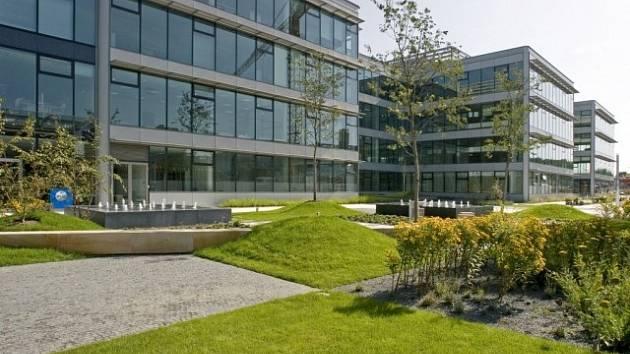 Kancelářské budovy. Ilustrační foto.