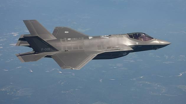 Bojový letoun Lockheed Martin F-35 Lightning II
