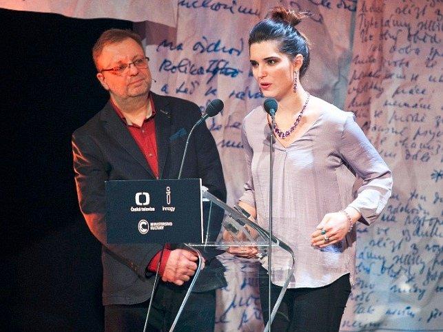 Milan Šteindler a Michalina Olszanska