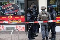 Přes 500 policistů se dnes zapojilo do rozsáhlého zátahu v centru východoněmeckého Lipska.