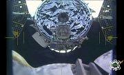 kontakt Cygnusu s ISS