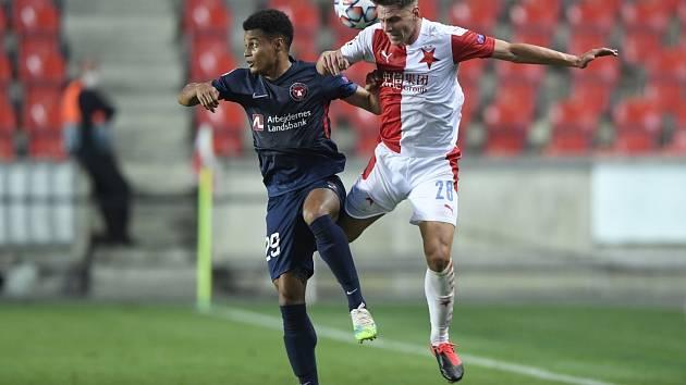 4. předkolo Ligy mistrů, Slavia - Midtjylland