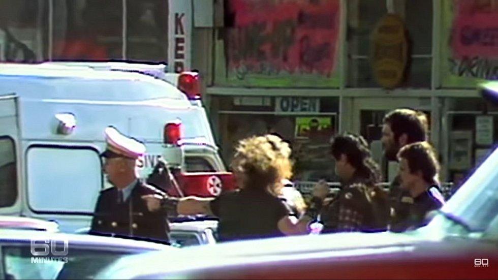 Autentické záběry z místa přestřelky po příjezdu policie