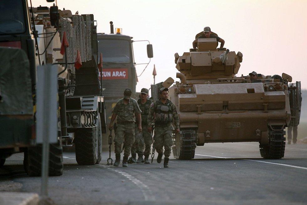Na podzim se uskutečnila turecká invaze na sever Sýrie