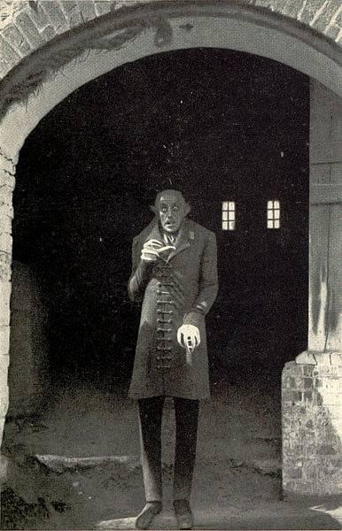 Nosferatu s Maxem Schreckem v titulní roli se točil na slovenském Oravském hradě