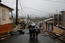 Následky řádění hurikánu Maria na ostrově Portoriko