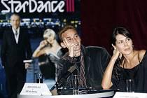 Představily se dvojice televizní soutěže StarDance III. Jana Doleželová a Michal Necpál během tiskové konference
