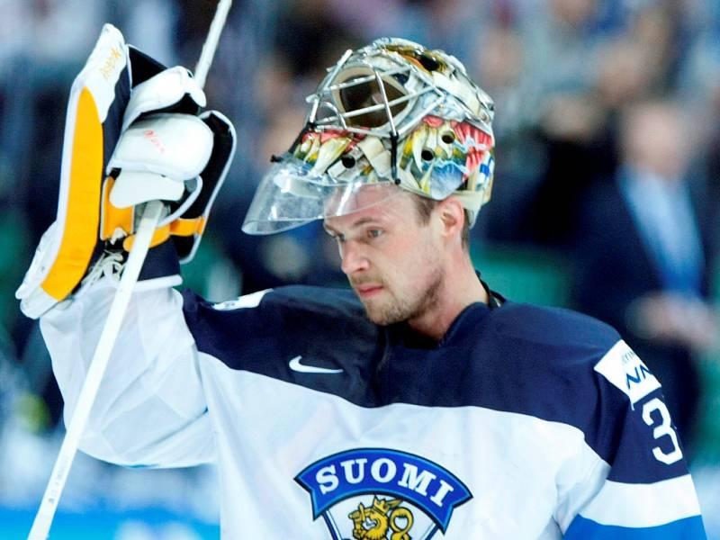 Čtvrtfinálová bitva mezi Českem a Finskem: Pekka Rinne