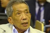 Někdejší velitel nechvalně proslulé věznice S-21 ultralevicového režimu Rudých Khmerů Kang Kek Ieu