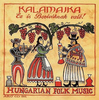 Kalamajka na desce maďarské lidové hudby.