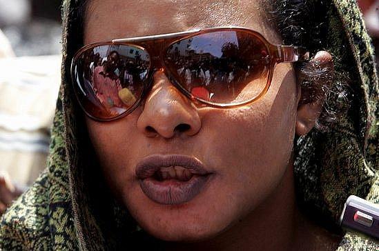 Súdánská novinářka Lubna Ahmad Husajnová