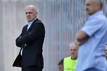 Trenér Bílek po prohraném utkání s Ostravou rezignoval na svou funkci.