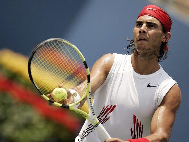 Rafael Nadal postoupil na US Open do osmifinále.