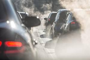 Automobilové emise - Ilustrační foto