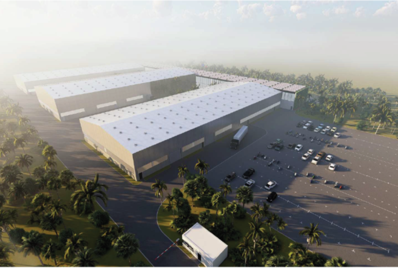 Vizualizace českého průmyslového parku v indickém Bengalúru