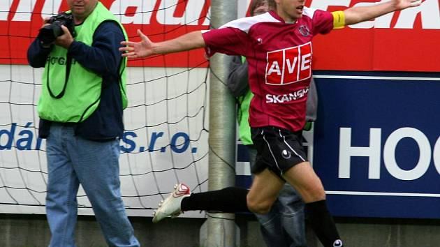 Střelec vyrovnávacího gólu David Horejš