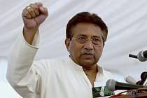 Bývalý pákistánský prezident Parvíz Mušaraf na snímku z 15. dubna 2013.