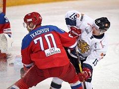 Vladimir Tkačjov z Ruska (vlevo) a Miro Aaaltonen z Finska.
