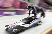 Kaillie Humphriesová a Heather Moyseová získaly zlato v závodu dvojbobů na olympijských hrách v Soči.