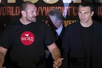 Tyson Fury a Vladimír Kličko