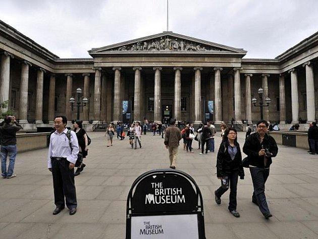 Britské muzeum v Londýně.