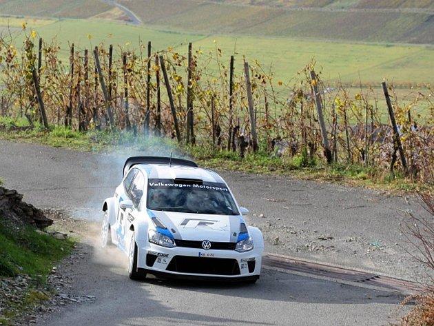 Volkswagen Polo pro mistrovství světa v rallye.