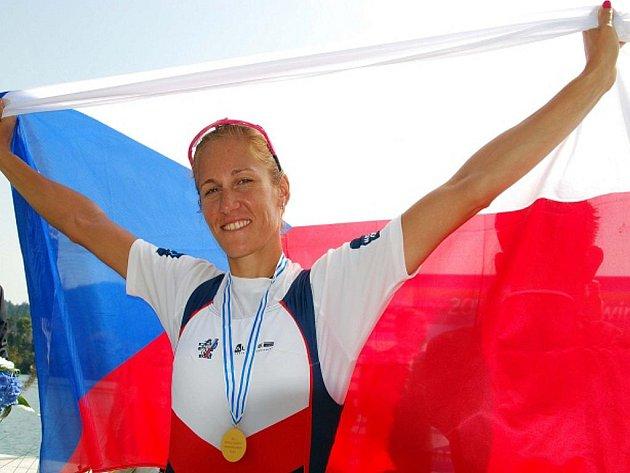 Skifařka Miroslava Knapková se stala mistryní světa.