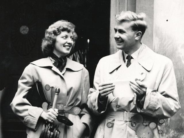 Eva a Zdeněk Maškovi v roce 1957