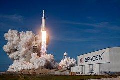Start rakety Falcon Heavy
