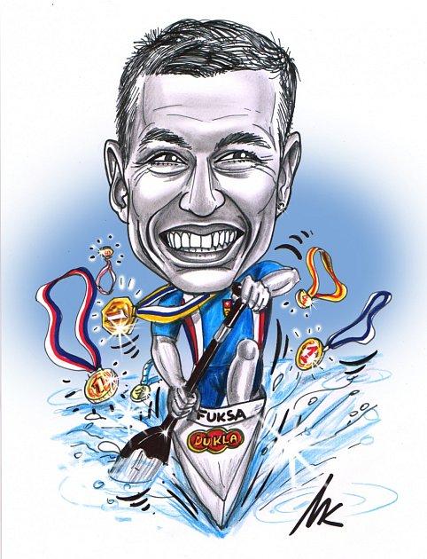Martin Fuksa a mistrovství světa.
