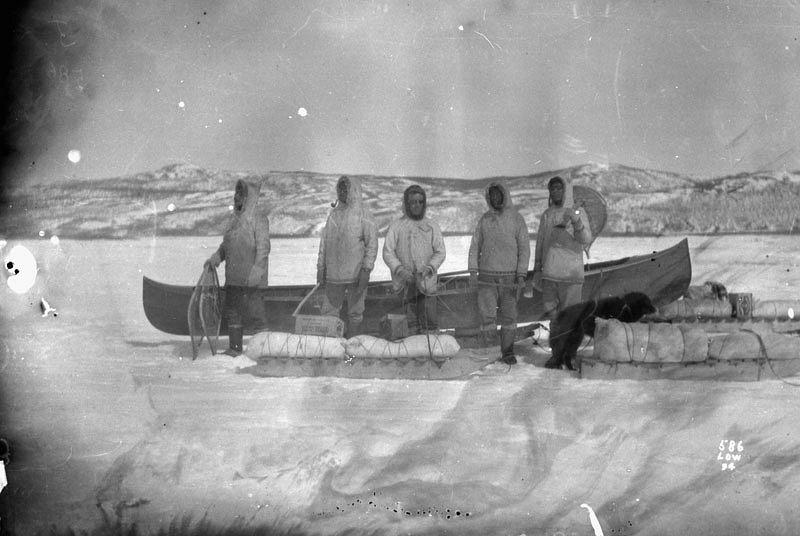 Newfoundlandská řeka Hamilton, která stála u začátku Frissellovy filmové kariéry