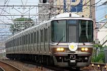 Příměstský vlak na lince Biwako