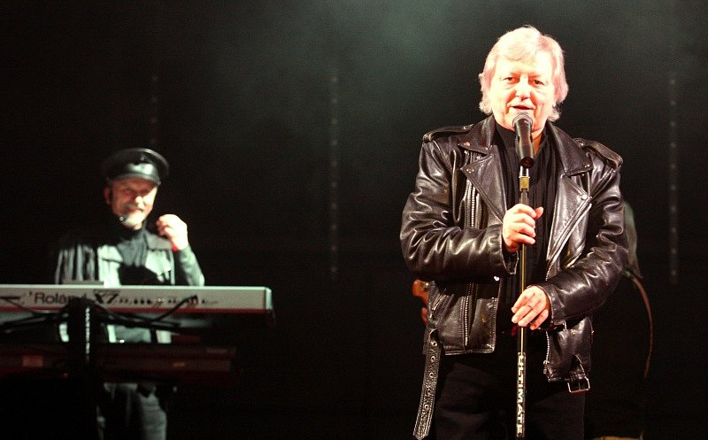Václav Neckář v Ústí