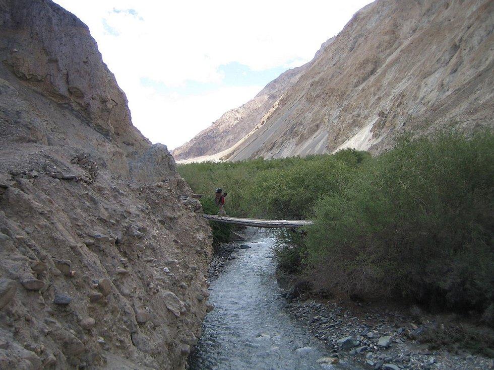 Údolí řeky Marcha