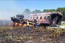 Železniční neštěstí v JAR