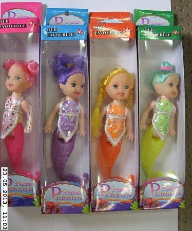 "Panenka vkrabičce ""Delicate PERSON fish Princess""."