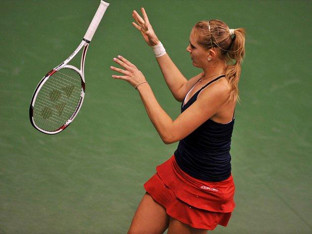 Nicole Vaidišová se v utkání se Slovenskem rozloučila s reprezentací Česka ve Fed Cupu.