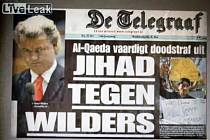 Záběr z protiislámského videa Geerta Wilderse.