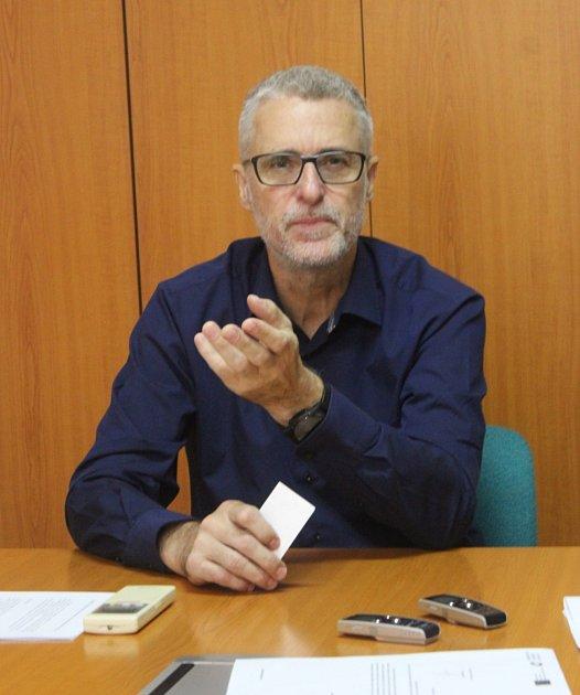 MUDr. Petr Chudomel, ředitel Oblastní nemocnice Kolín