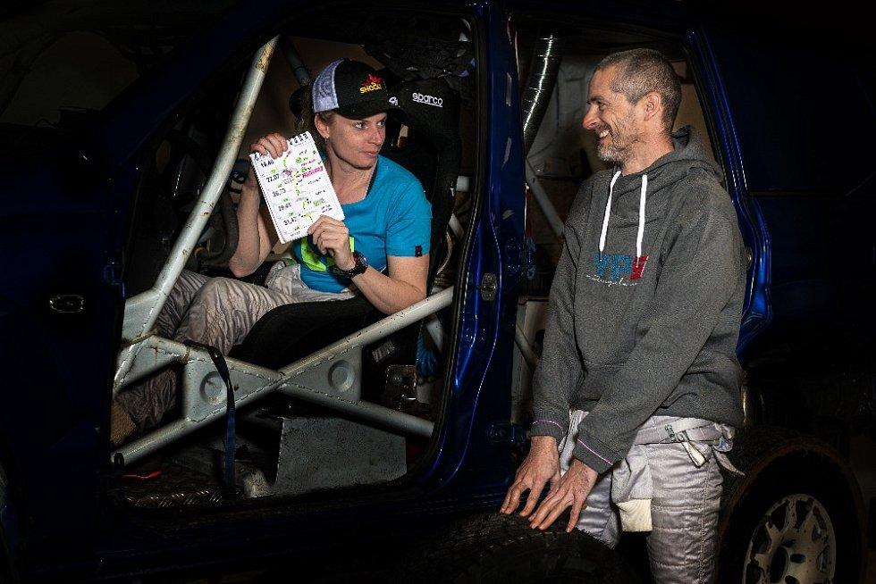 Ollie Roučková by ráda na Dakar 2022