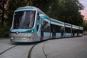 Tramvaj z továrny Škoda Transportation