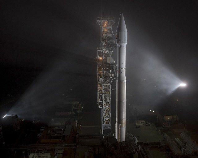 Start rakety Atlas V s robotickou sondou InSight.