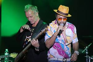 Koncert  - Sting a Shaggy ve Forum Karlín 16.listopadu 2018.
