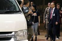 Rahaf Kunúnová opustila bangkocké letiště