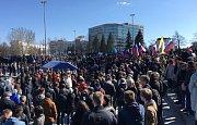 Demonstrace v Jekatěrinburgu